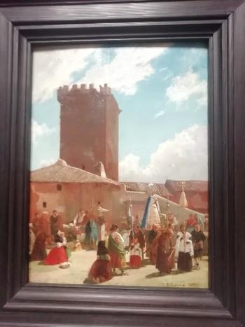 La 'Procesión en Noviercas' luce de nuevo todos sus colores