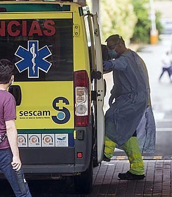 Una decena de toledanos están hospitalizados en la provincia por coronavirus.