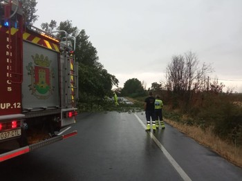Talavera activa un operativo especial contra la tormenta
