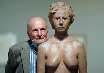 El cuerpo humano es uno de los principales ejes temáticos de la obra del artista castellano-manchego.