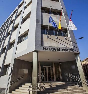 Palacio de Justicia, donde se celebró el juicio.