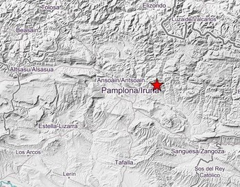 Navarra vuelve a temblar: nuevo terremoto de 3,3 grados