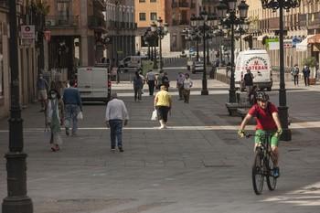 IU apoya crear un 'anillo ciclista urbano' en Segovia