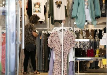 Tienda de ropa en Logroño.