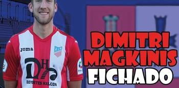 Dimitri Magkinis ficha por el CD Illescas