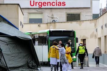 España registra 809 muertes en las últimas 24 horas
