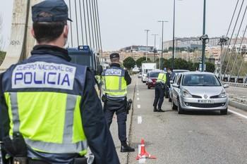 Controles de la UIP de la Policía Nacional