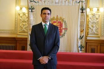El concejal de Vox Javier García Bartolomé