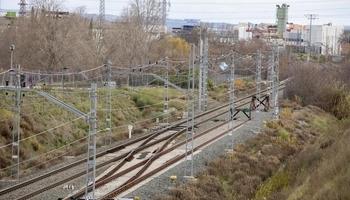 ADIF renovará 110 traviesas de la vía férrea en Alfaro
