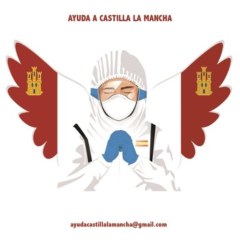 Castellano-manchegos unidos para conseguir material médico