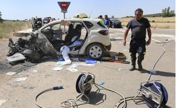 136 personas murieron en carretera en 2019, 40 menos