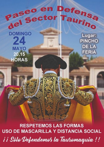 El sector taurino se movilizará el domingo en Albacete