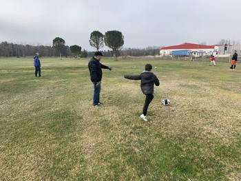 Éxito de la jornada de puertas abiertas de footgolf
