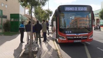 Otro autobús híbrido en pruebas para Segovia