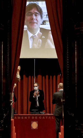 El omnipresente Puigdemont