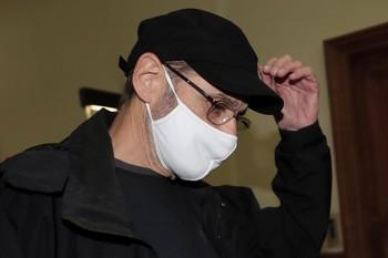 Josu Ternera a su llegada al Tribunal de París