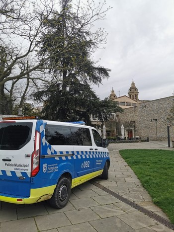 Cuatro sanciones en las últimas 24 horas en Pamplona