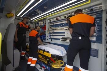 Protección Civil lleva su labor en pandemia a unas jornadas