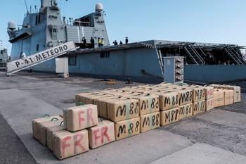 Incautan 35 toneladas de hachís en la mayor redada marítima