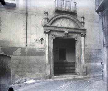 El antiguo hospital de Bálsamo se ubicaba en la calle La Plata.