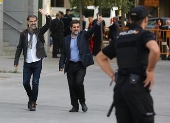 Podemos pide con ERC y JxCat, la libertad de los 'Jordis'