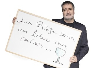 Óscar Soto, presidente de la Asociación Riojana de Escritores.