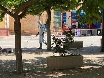 El Sepei cierra otra semana repleta de desinfecciones