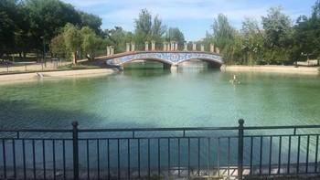 Lago de la Alameda recupera su mejor imagen tras su limpieza