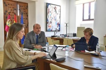 El vicepresidente regional, José Luis Martínez Guijarro, ha participado en la 62º reunión de la CARUE.