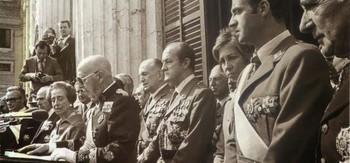Francisco Franco, ya muy dedicado de salud.