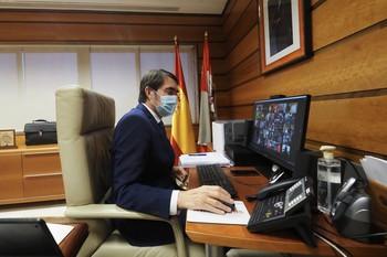 El consejero Suárez Quiñones