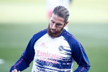 Ramos, fuera de la lista del Real Madrid