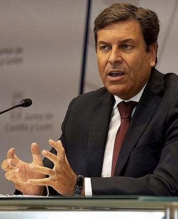 Imagen de archivo del consejero de Economía, Carlos Fernández Carriedo