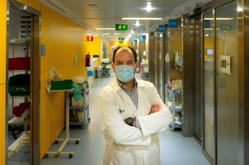 El presidente de la Sociedad Española de Medicina Intensiva, Crítica y Unidades Coronarias (SEMICUC), Ricard Ferrer
