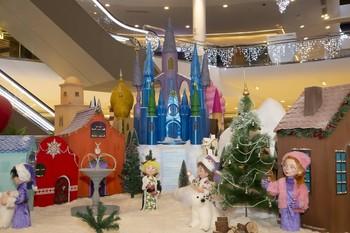 Un poblado navideño mágico anuncia la Navidad en Vallsur
