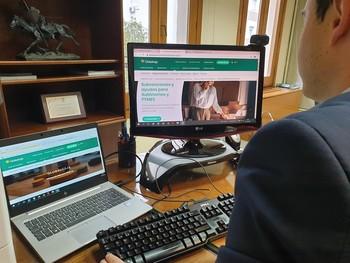 Globalcaja lanza un buscador de ayudas para empresas