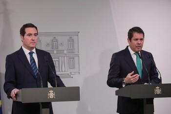 La CEOE y la Cepyme no se reunirán con el Gobierno