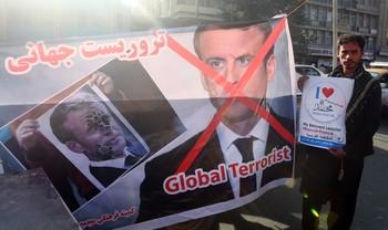 Afganistán, Pakistán y Bangladés se manifiestan contra Macron