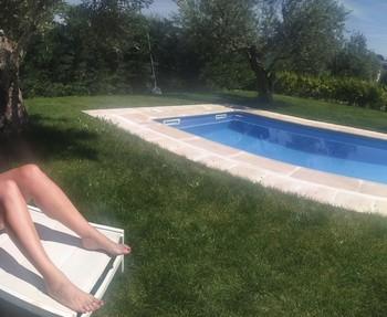 Este mayo ha sido de los más calurosos en toda La Rioja y se han abierto piscinas particualres