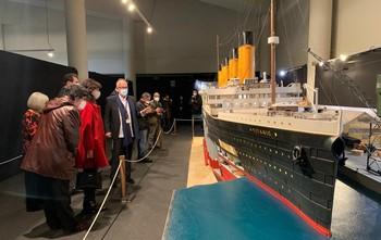 Exposición sobre el Titanic en el Museo de la Ciencia de Valladolid.