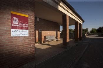 Consultorio médico de una localidad burgalesa.