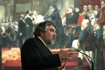 El ministro de Cultura, José Manuel Rodríguez Uribes