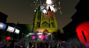 La empresa burgalesa Experience Factory ha recreado digitalmente el entorno y la propia Catedral, además de dar vida a los avatares del colectivo audiovisual.
