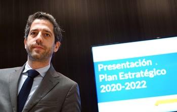 El presidente del Consejo de Administración de Iberaval, César Pontvianne, presenta las líneas principales que plantea la sociedad de garantía en su nuevo Plan Estratégico 2020-2022.
