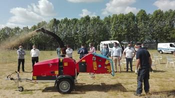 Nueva maquinaria para prevenir incendios de la Diputación