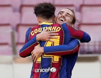 El Barça se impone en el Camp Nou