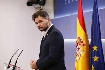 ERC anuncia un preacuerdo con el Gobierno para apoyar los PGE
