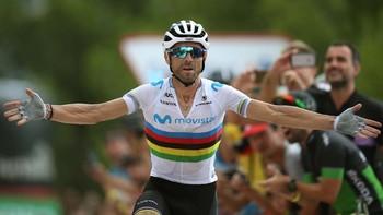 Alejandro Valverde estarán en la Vuelta a Burgos.