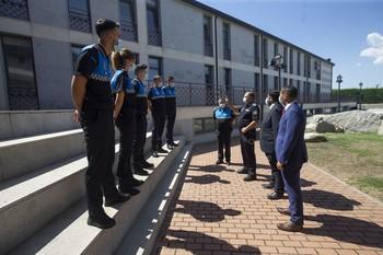 Cinco nuevos agentes para la Policía Local de Ávila