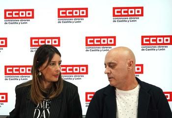 La secretaria de Mujer y Políticas de Igualdad de CCOO-CyL, Yolanda Martín, presenta una campaña para fomentar la puesta en marcha de planes de igualdad en empresas de las Comunidad.